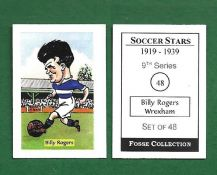 Wrexham Billy Rogers 48 (FC)